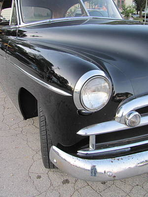 Photograph - Classic Car Black 2 by Anita Burgermeister