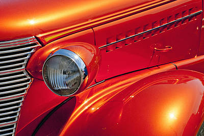 Photograph - Classic Car Lines by Paul W Faust -  Impressions of Light