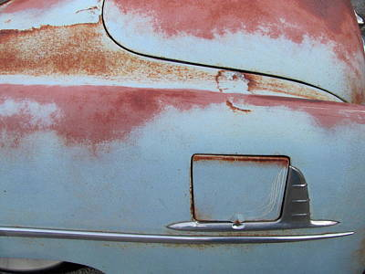 Photograph - Classic Car Rust 6 by Anita Burgermeister