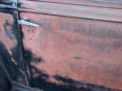 Photograph - Classic Car Rust 7 by Anita Burgermeister
