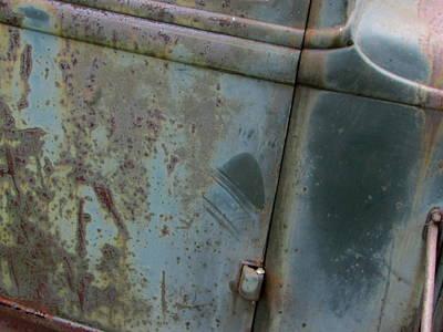 Photograph - Classic Car Rust Close Up 1 by Anita Burgermeister