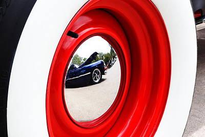Classic Cars 042 Art Print by Charley Starnes