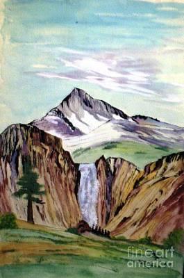 Classic Cliffs Of Splendor Art Print