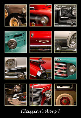 Photograph - Classic Colors 1 by Linda McRae