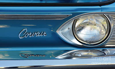 Photograph - Classic Corvair by Nick Jene