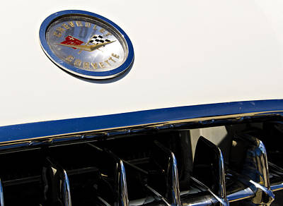 Personalized Name License Plates - Classic Corvette by Ricky Barnard