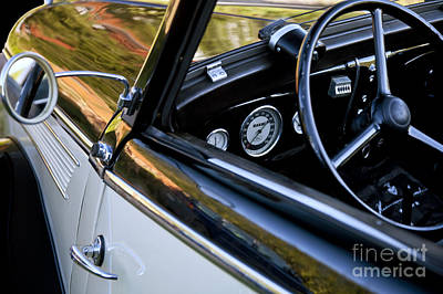 Classic Ford Interior Art Print by Heiko Koehrer-Wagner