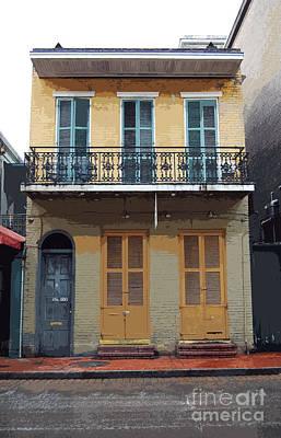 Digital Art - Classic French Quarter Residence New Orleans Cutout Digital Art by Shawn O'Brien