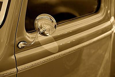 Pickup Truck Door Photograph - Classic Pickup Truck Door by M K  Miller