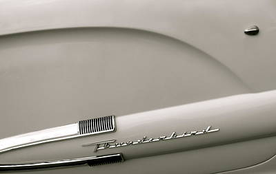 Photograph - Classic Thunderbird by Rhonda Jones