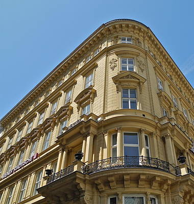 Photograph - Classical Architecture In Vienna by Kirsten Giving