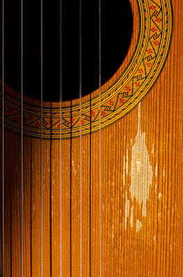 Classical Spanish Guitar Art Print by Perry Van Munster