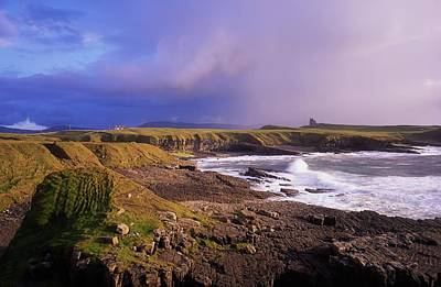 Classiebawn Castle, Mullaghmore, Co Art Print by The Irish Image Collection