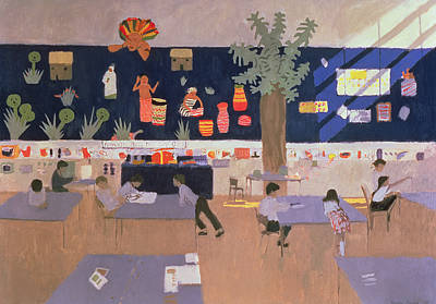 Classroom Print by Andrew Macara