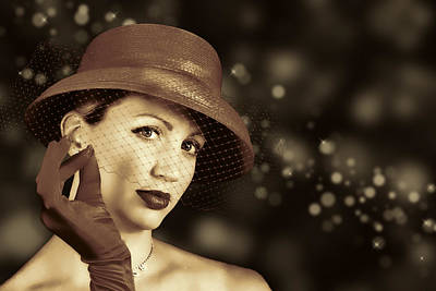 Photograph - Classy Lady by Trudy Wilkerson