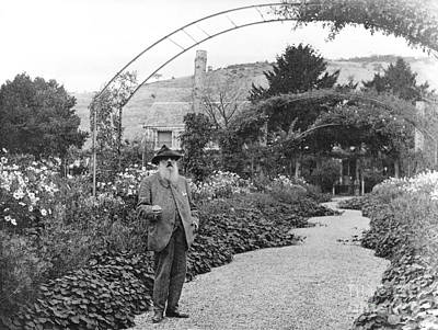 Impressionism Photograph - Claude Monet, French Impressionist by Photo Researchers, Inc.