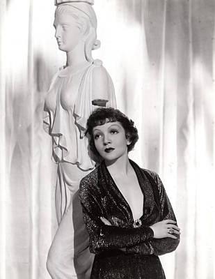 Claudette Colbert Photograph - Claudette Colbert, Portrait, 1935 by Everett