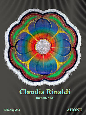 Claudia Rinaldi Art Print