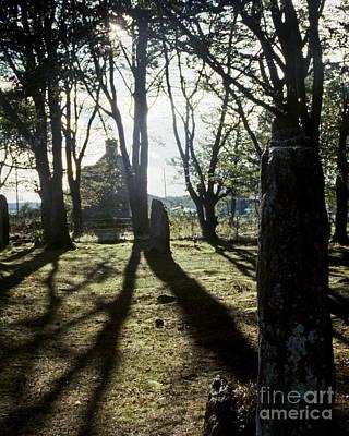 Photograph - Clava Woods Near Inverness by Pete Klinger