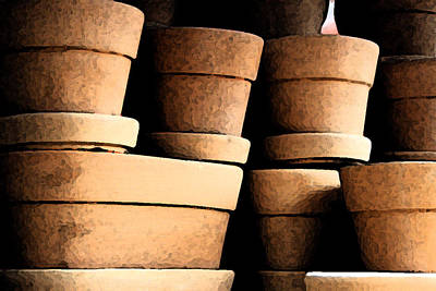 Photograph - Clay Pots by Brian Davis