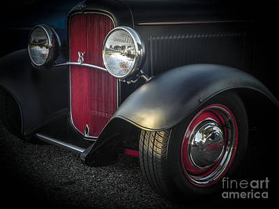 Tricked-out Cars Photograph - Clean Rod by Chuck Re