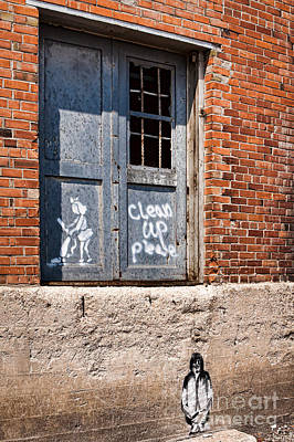 Photograph - Clean Up Please by Lawrence Burry