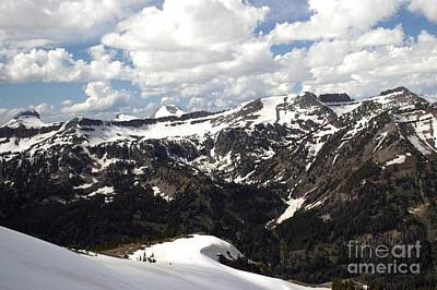 Photograph - Clear Day On Rendezvous Mountain by Living Color Photography Lorraine Lynch