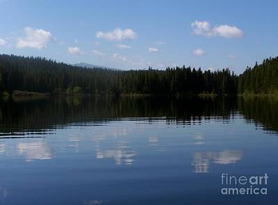 Photograph - Clear Lake Reflection by Erica Hanel