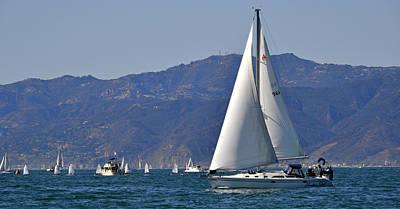 Clear Sailings Art Print