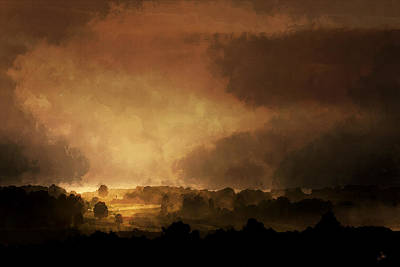 Clearing Storm Art Print by Ron Jones