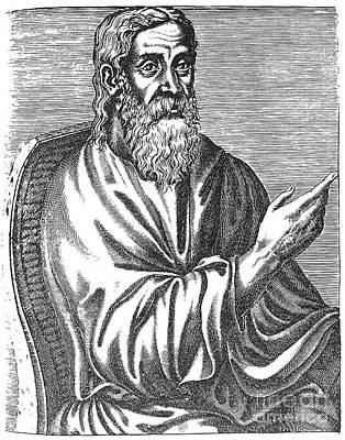 Clement Of Alexandria Art Print by Granger