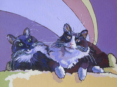 Painting - Cleo And Cloe by Sandy Tracey