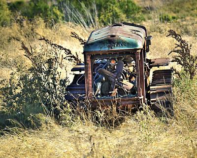 Cletrac Tractor Art Print