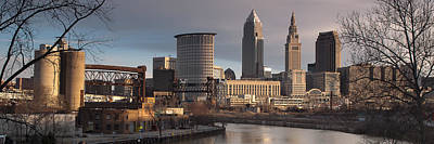 Photograph - Cleveland Skyline From The Industrial Valley by At Lands End Photography