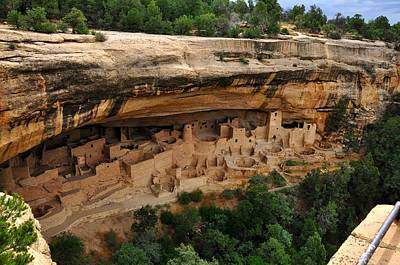 Photograph - Cliff Dwellings by Gene Sherrill
