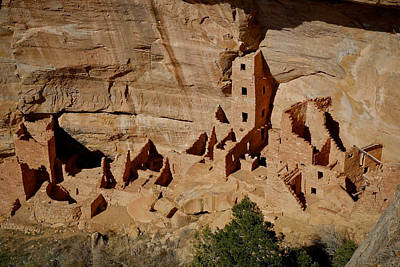 Photograph - Cliff Dwellings by Steve McKinzie