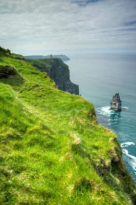 Rose - Cliff of Moher 25 by Douglas Barnett