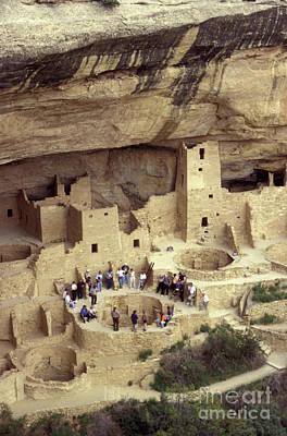 Cliff Palace Kiva Mesa Verde Art Print by John  Mitchell