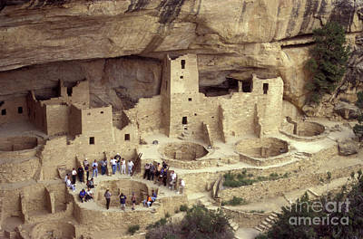 Mesa Verde Photograph - Cliff Palace Mesa Verde by John  Mitchell
