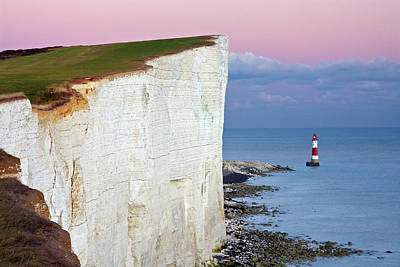 Eastbourne Photograph - Cliff by Paul Thompson
