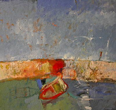 Painting - Cliff Skiff Riff by Cliff Spohn