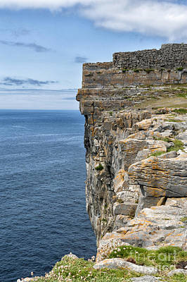 Photograph - Cliffs At Aran Island by Cheryl Davis
