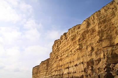 Y120817 Photograph - Cliffs At Burton Bradstock, Dorset by Jodie Wallis