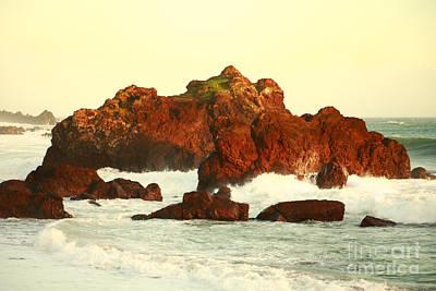 Azoren Photograph - Cliffs In The Warm Evening Light by Gaspar Avila