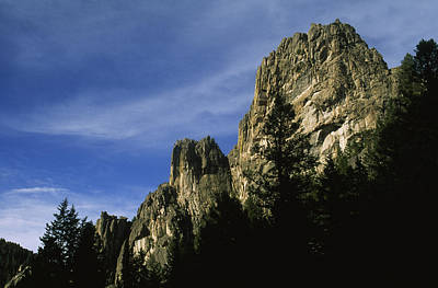 Cliffs In Willow Creek Canyon, Tobacco Art Print