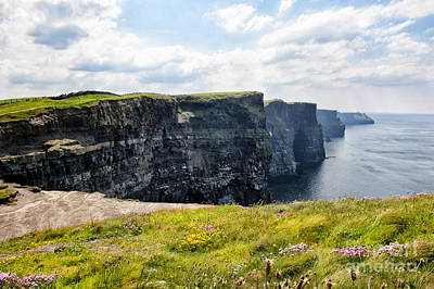 Photograph - Cliffs Of Moher by Cheryl Davis