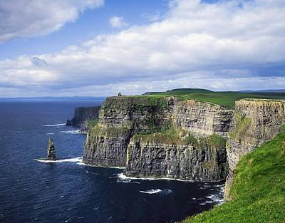 Cliffs Of Moher, Co Clare, Ireland Art Print by The Irish Image Collection