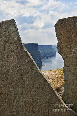 Photograph - Cliffs Of Moher View by Cheryl Davis