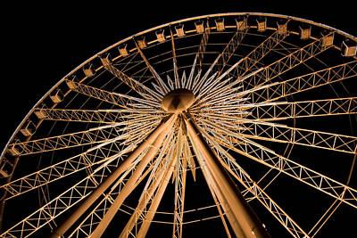 Photograph - Clifton Hill Ferris Wheel by Van Corey