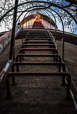 Print featuring the photograph Climb Away by Matti Ollikainen